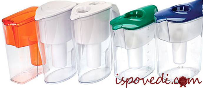 кувшинный фильтр для очистки воды