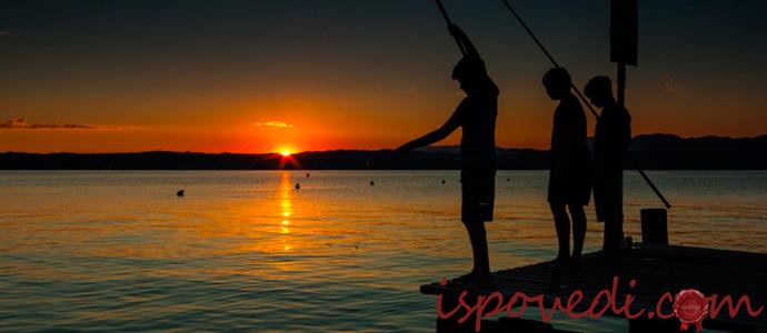 мистическая история о ночной рыбалке