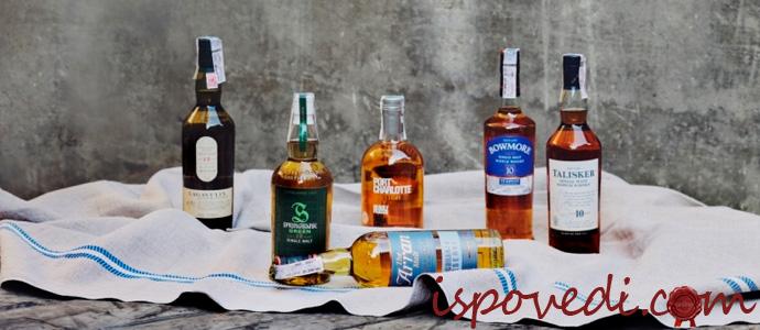 бутылки виски