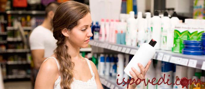 выбор средства от выпадения волос