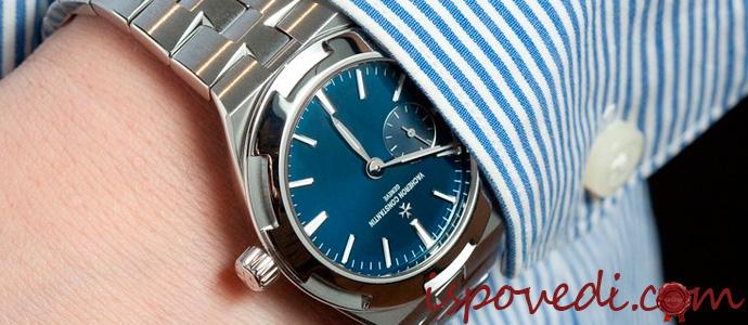 часы Vacheron Constantin на руке