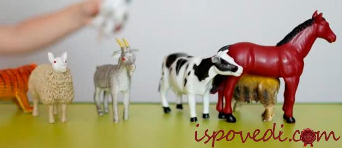 игрушки животных для детей