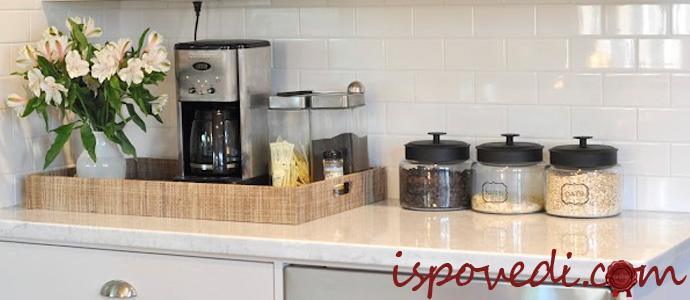 кофемашина на кухне