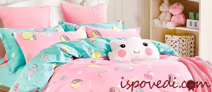 красивое детское постельное белье