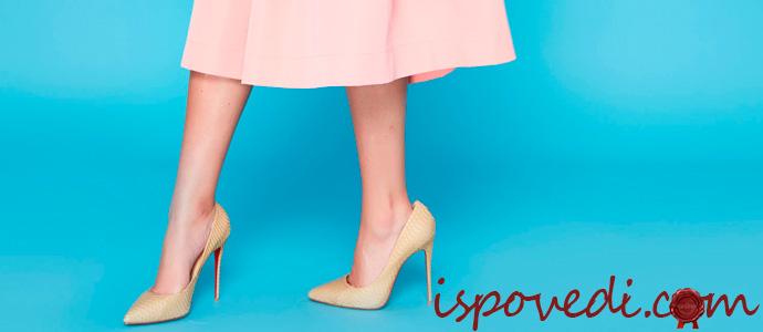 туфли под бежевое платье