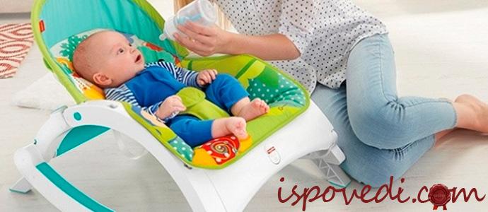 купить детское кресло-качалку