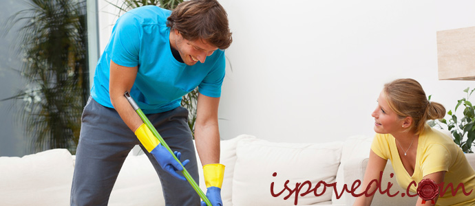 история о распределении домашней работы между мужем и женой