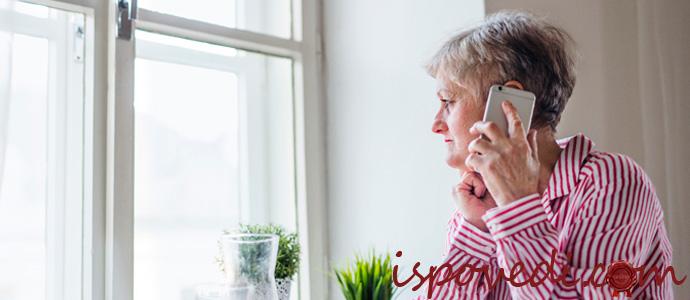 как общаться с престарелой матерью