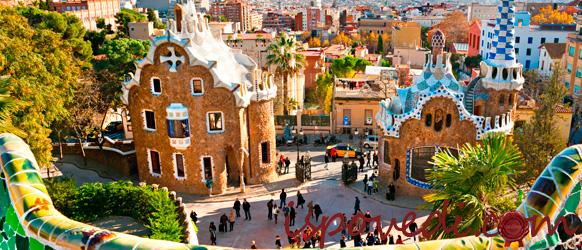 Яркая Барселона