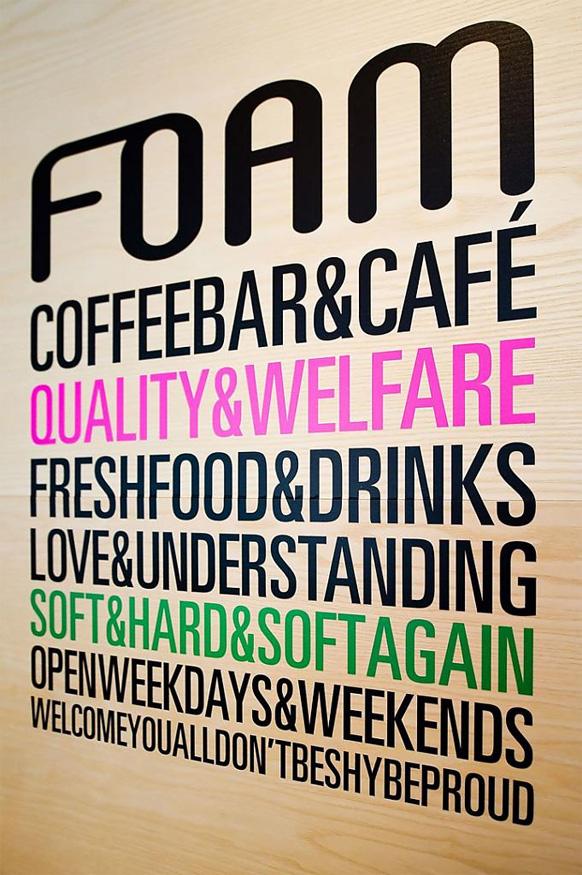 Дизайн кафе Café Foam