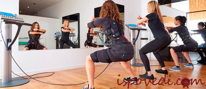 фитнес ems тренировки
