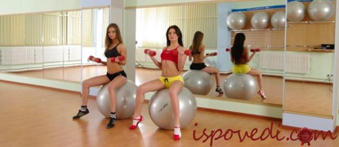 девушки и фитнес