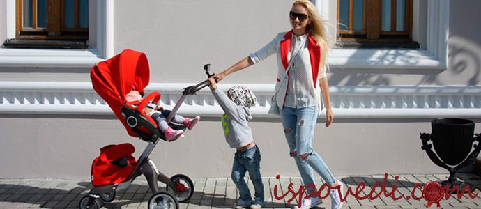 детская коляска для молодой мамы