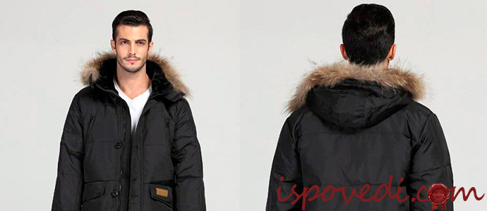 мужчина в модной куртке