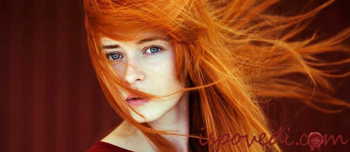исповедь рыжеволосой девушки