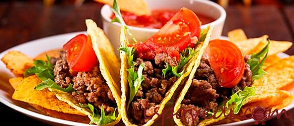 Оригинальное мексиканское блюдо