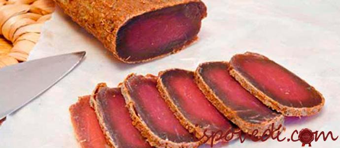 сушенное мясо
