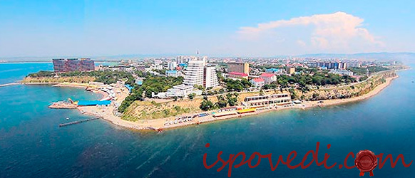 морское побережье Анапы