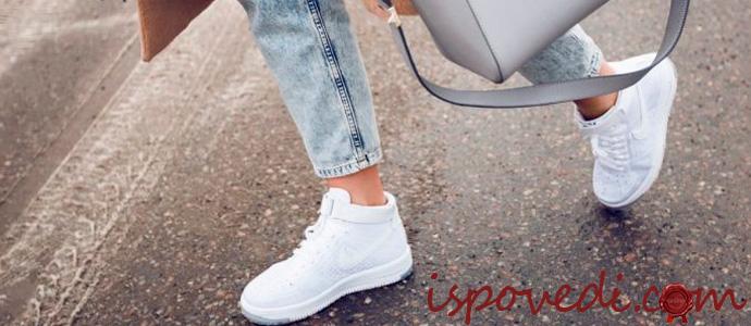 модная женская спортивная обувь