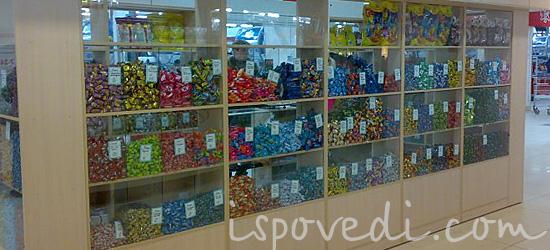 Рассказ продавщицы конфет и сладостей