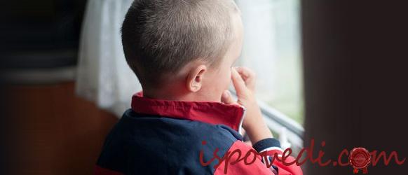 Как мальчик пережил развод родителей