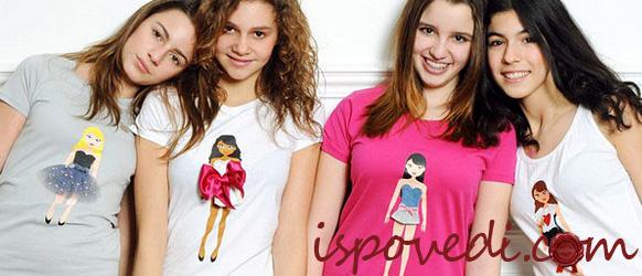 Симпатичные футболки для девушек