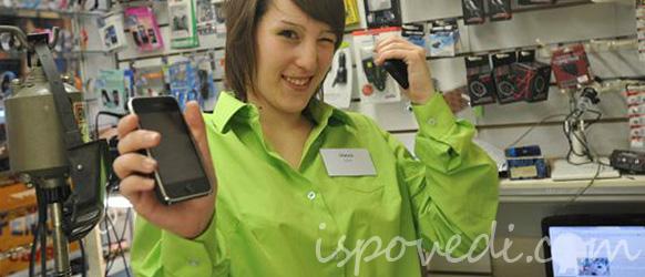 Агрессивные продажи мобильных телефонов