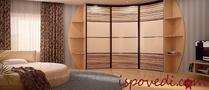 шкаф-купе в комнате