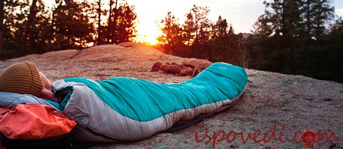 спальный мешок для походов