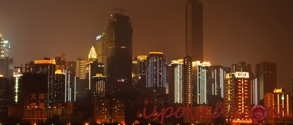 Город Чунцин в Китае