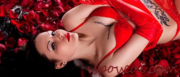 Романтика в лепестках роз