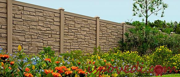 Забор от неадекватных соседей